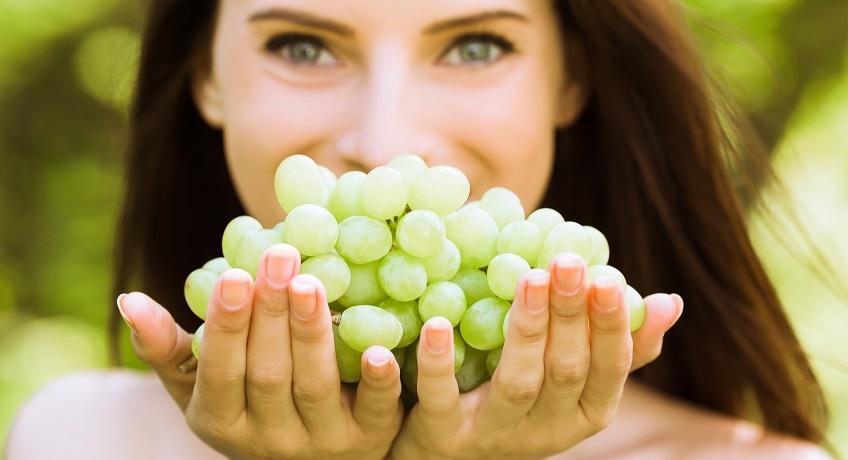 Tutti i benefici in un grappolo d'uva