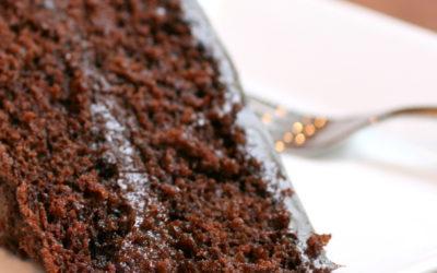 Torta ubriaca con cioccolato